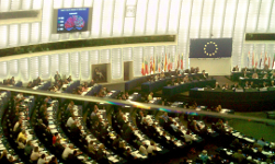 A view of the European Parliament inside